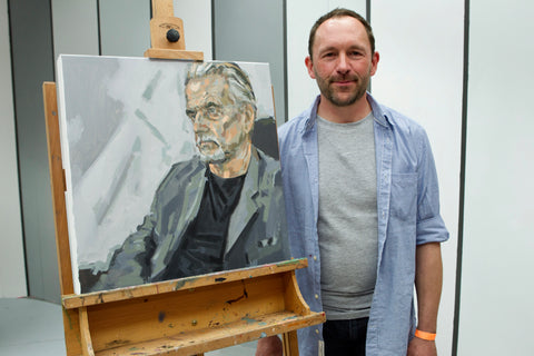 Greg Mason winning portrait of Trevor Eve
