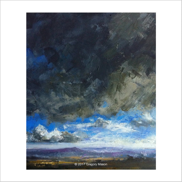 Greg Mason: Dramatic Dartmoor Oil Painting
