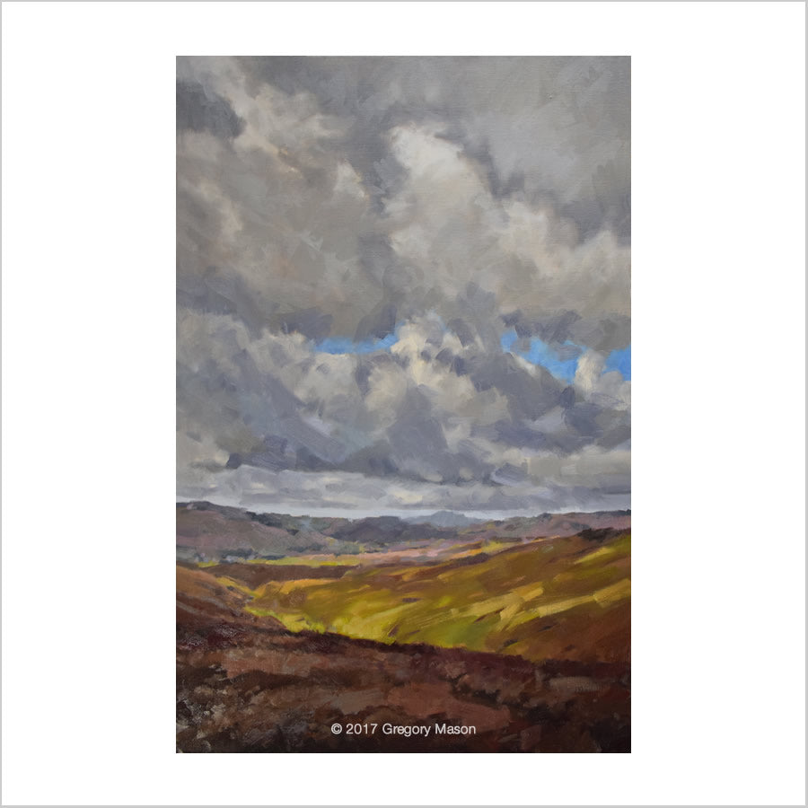 Greg Mason: Oil Painting Yorkshire