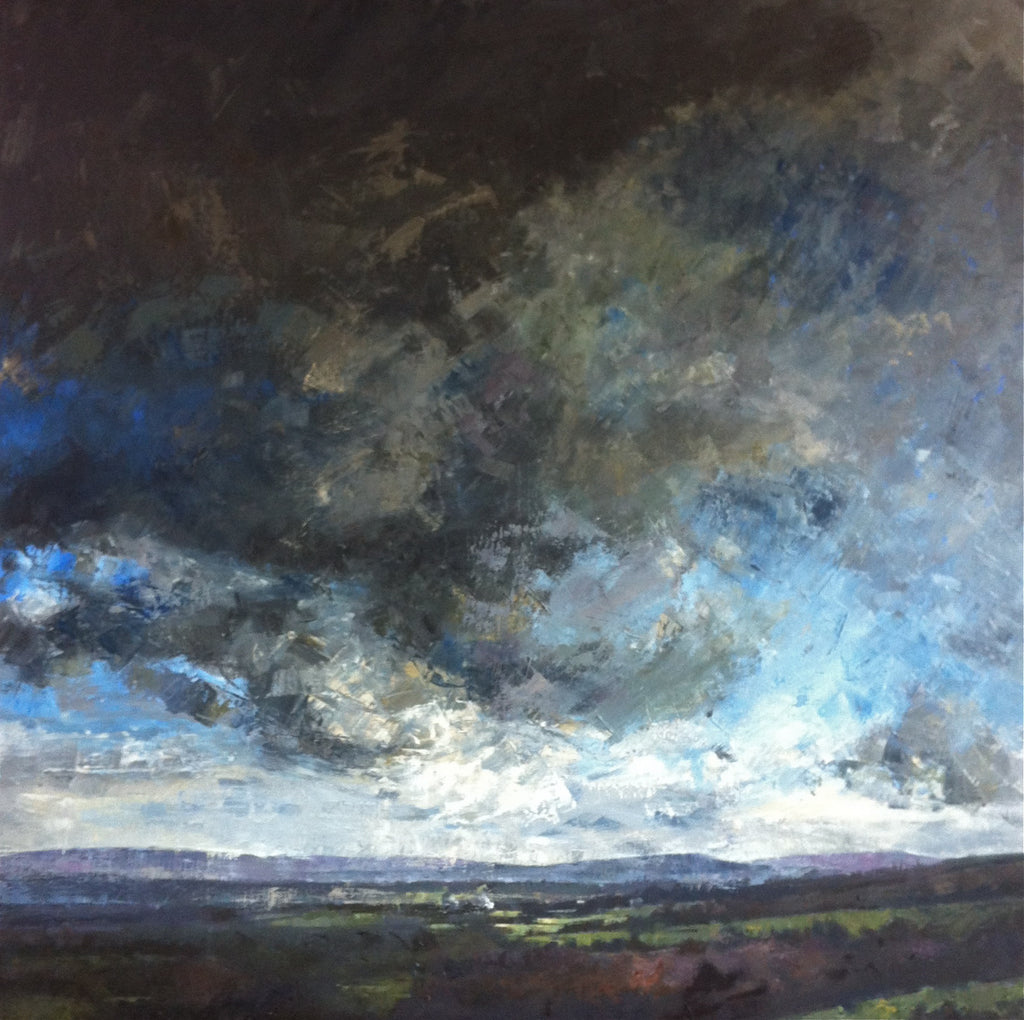 Painting of Moorland by UK Artist Greg Mason