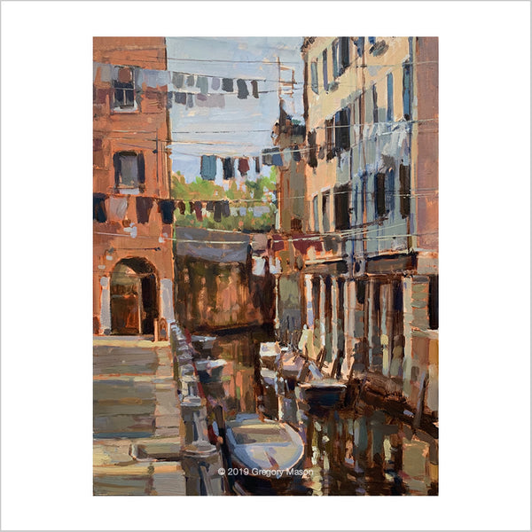 Venice Backstreet by Artist Greg Mason