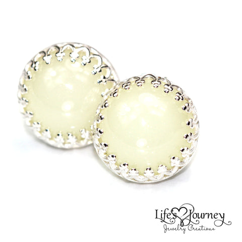 Goldfilled rope post earrings life 39 s journey jewelry for Breastmilk jewelry tree of life