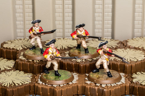 10th Regiment of Foot - Common Squad-All Things Heroscape