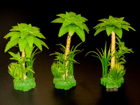 3 x Ticalla Jungle Tree Terrain-All Things Heroscape
