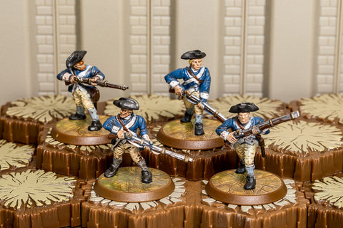 4th Massachusetts Line - Common Squad-All Things Heroscape