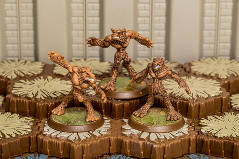Anubian Wolves - Common Squad-All Things Heroscape