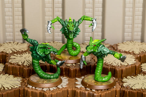 Armoc Vipers - Common Squad-All Things Heroscape