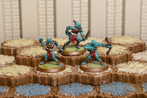 Arrow Gruts - Common Squad-All Things Heroscape