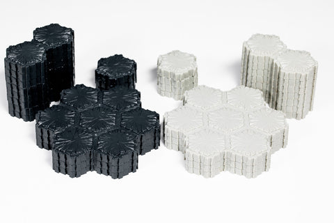 Marvel Asphalt & Concrete Terrain - 79 Hexes-All Things Heroscape