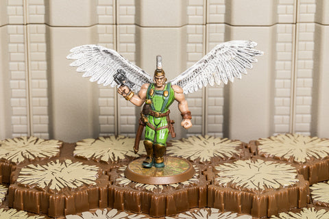 Atlaga the Kyrie Warrior - Unique Hero-All Things Heroscape