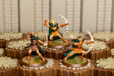 Aubrien Archers - Common Squad-All Things Heroscape