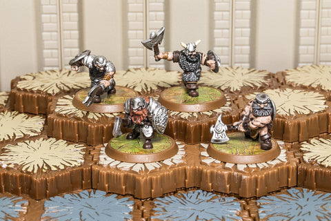 Axegrinders of Burning Forge - Common Squad-All Things Heroscape
