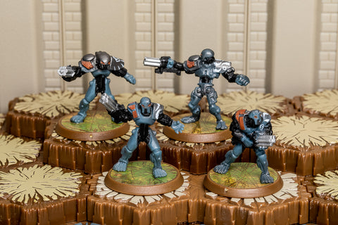 Blastatrons - Common Squad-All Things Heroscape