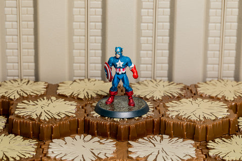 Captain America - Unique Hero-All Things Heroscape