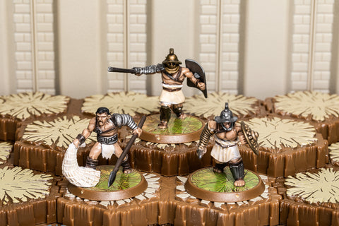 Capuan Gladiators - Common Squad-All Things Heroscape