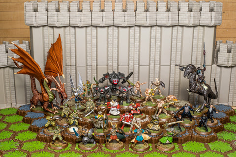 Complete Rise of the Valkyrie - 30 Figures Only Set-All Things Heroscape