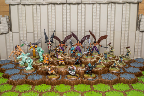 Dawn of Darkness - Wave 6 - Complete-All Things Heroscape