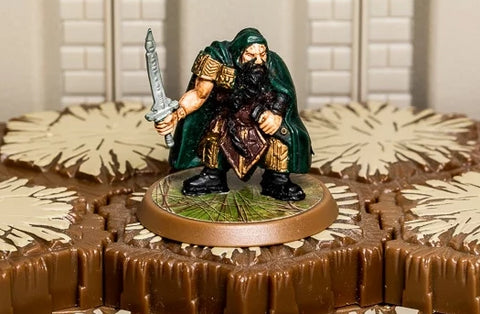 Darrak Ambershard - Unique Hero-All Things Heroscape