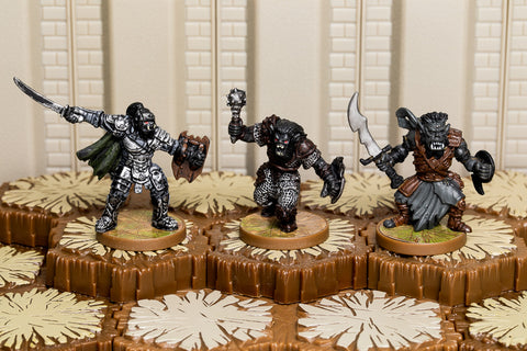 Death Chasers of Thesk - Common Squad-All Things Heroscape
