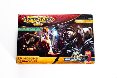 D&D: Battle for the Underdark - Master Set - NEW!-All Things Heroscape