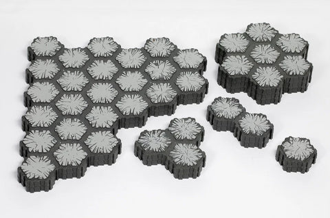 Dungeon Terrain Lot - 80 Hexes-All Things Heroscape