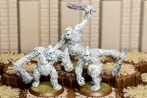 Dzu-Teh - Common Squad-All Things Heroscape