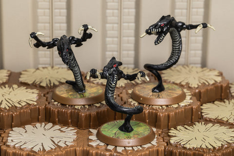 Elite Onyx Vipers - Unique Squad-All Things Heroscape