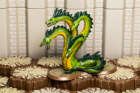 Fen Hydra - Uncommon Hero-All Things Heroscape