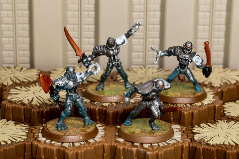 Gladiatrons - Common Squad-All Things Heroscape