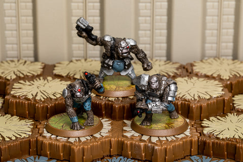 Gorillinators - Common Squad-All Things Heroscape