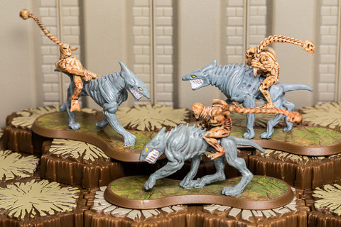 Grok Riders - Common Squad-All Things Heroscape