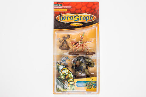 Heroes of Barrenspur Figure Expansion - NEW!-All Things Heroscape