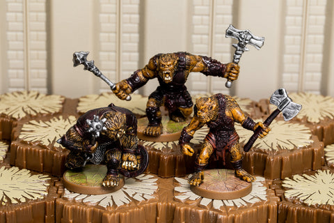 Horned Skull Brutes - Common Squad-All Things Heroscape