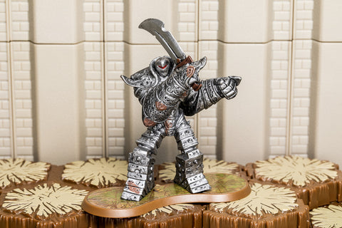 Iron Golem - Uncommon Hero-All Things Heroscape