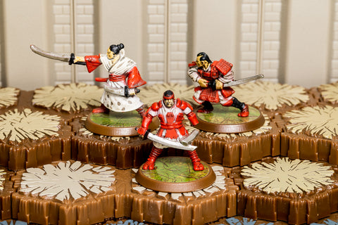 Izumi Samurai - Unique Squad-All Things Heroscape