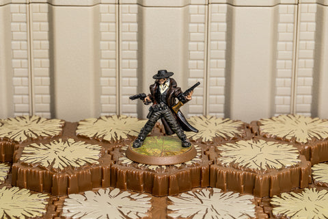 "Johnny ""Shotgun"" Sullivan - Unique Hero-All Things Heroscape"