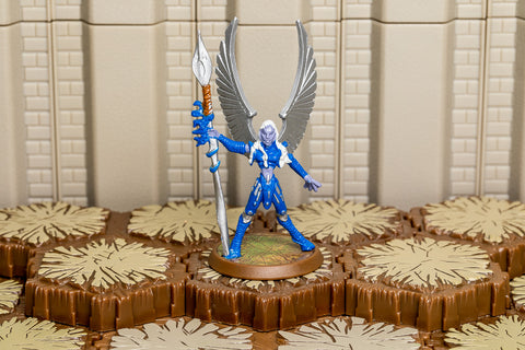 Kelda the Kyrie Warrior - Unique Hero-All Things Heroscape