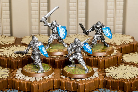 Knights of Weston - Common Squad-All Things Heroscape