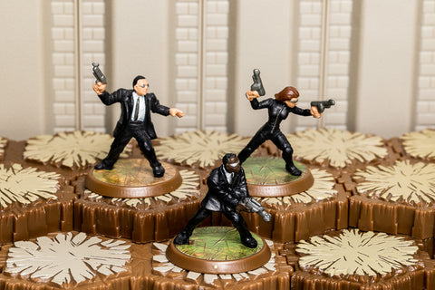 Krav Maga Agents - Unique Squad-All Things Heroscape