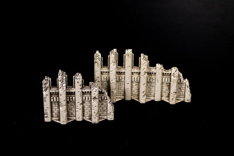 Large and Small Wall Ruins-All Things Heroscape