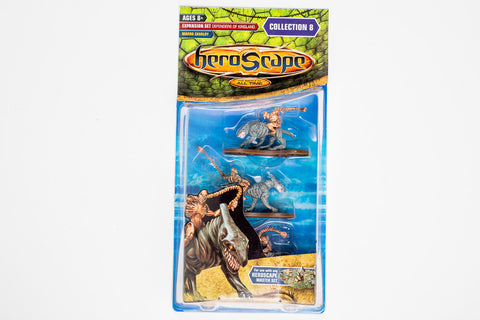 Marro Cavalry Figure Expansion - Wave 8 - Grok Riders - NEW!-All Things Heroscape
