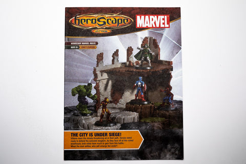 Marvel: The Battle Begins Master Set Instructions Manual-All Things Heroscape