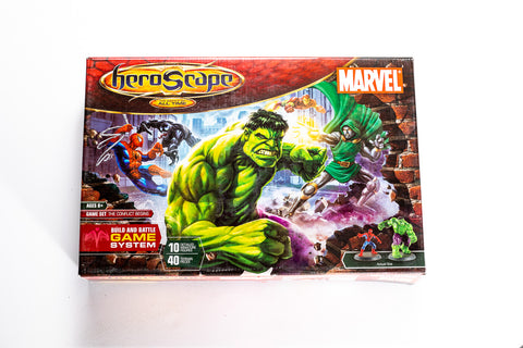 Marvel: The Conflict Begins - Master Set - NEW!-All Things Heroscape