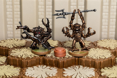 Mezzodemon Warmongers - Common Squad-All Things Heroscape