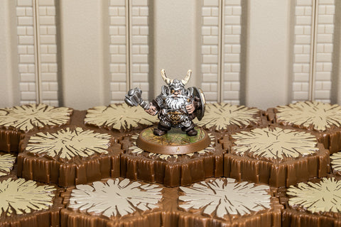 Migol Ironwill - Unique Hero-All Things Heroscape
