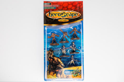 Minutemen & Wolves Figure Expansion - NEW!-All Things Heroscape