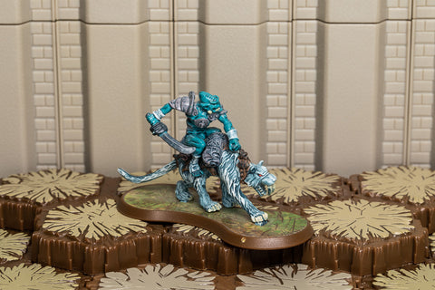 Nerak the Glacian Swog Rider - Unique Hero-All Things Heroscape