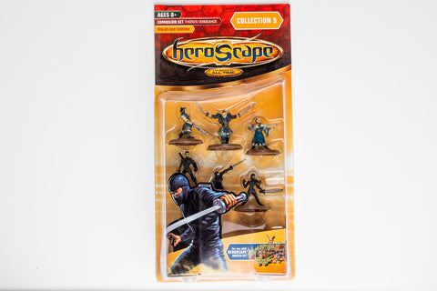 Ninjas and Samurai Figure Expansion - NEW!-All Things Heroscape