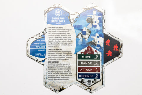 Heroscape Omnicron Repulsors Wave 9 Blackmoon Siege Free Ship Available