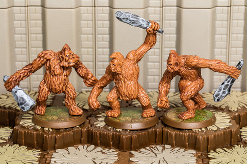 Quasatch Hunters - Common Squad-All Things Heroscape